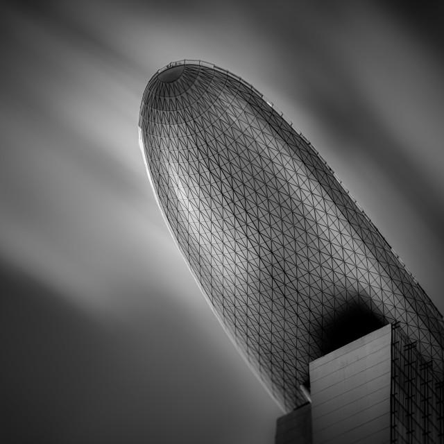 """""""Marina Bay Sands - Study I"""" stock image"""