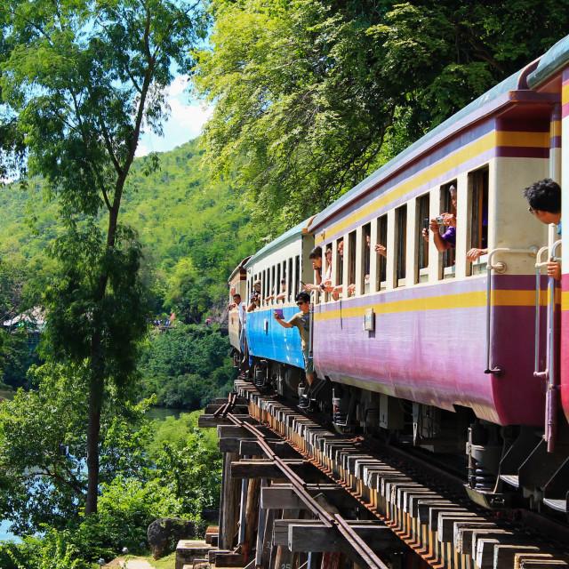 """thai train"" stock image"