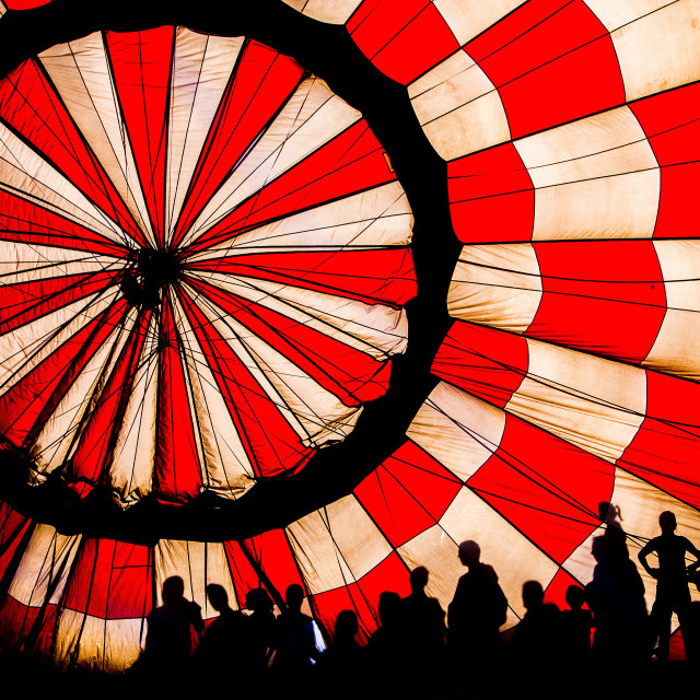 """Hot-air balloon"" stock image"
