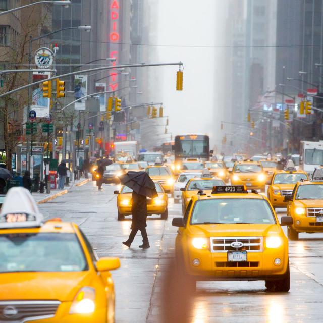 """Umbrella in New York"" stock image"