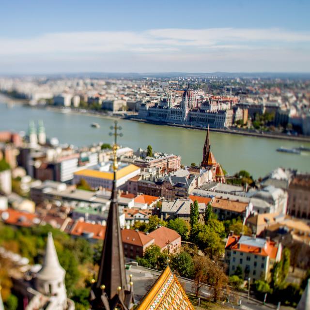 """Budapest panorama"" stock image"