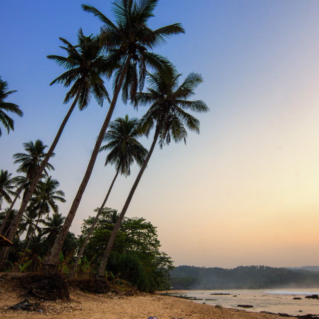 """Lagoon Pari Beach"" stock image"