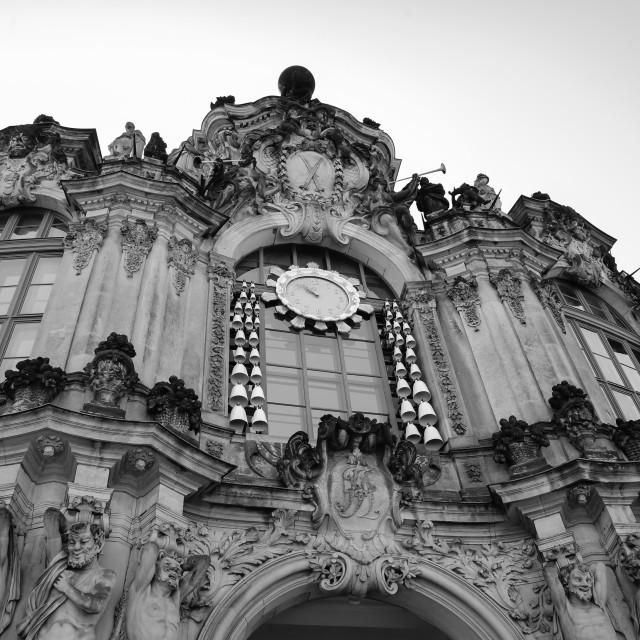 """""""The Dresden Frauenkirche"""" stock image"""