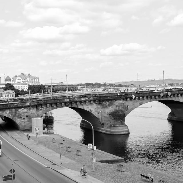 """""""Center of Dresden"""" stock image"""