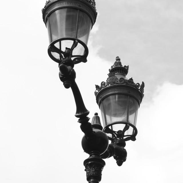 """""""street lantern"""" stock image"""