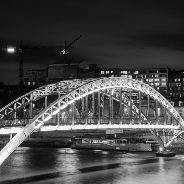 """""""ark bridge in Paris"""" stock image"""