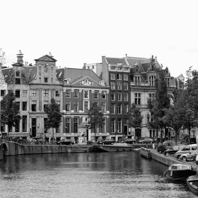 """""""Canals of Amsterdam"""" stock image"""