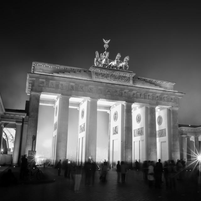 """Brandenburger gate in Berlin"" stock image"