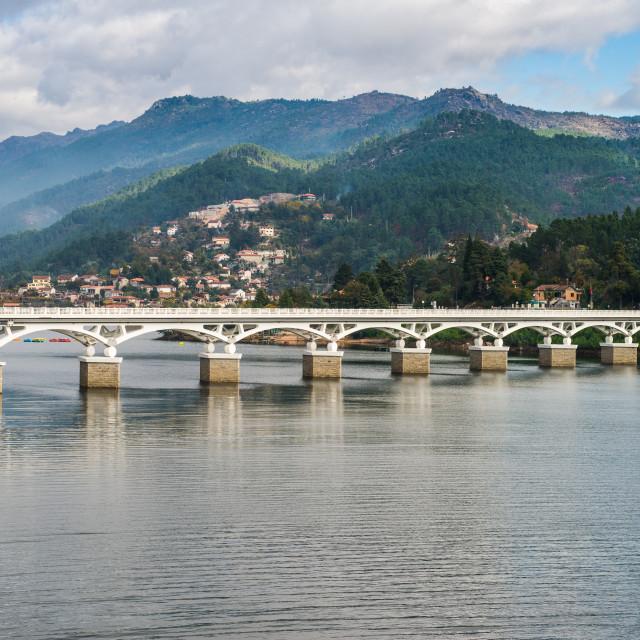 """Bridge of Geres national park"" stock image"