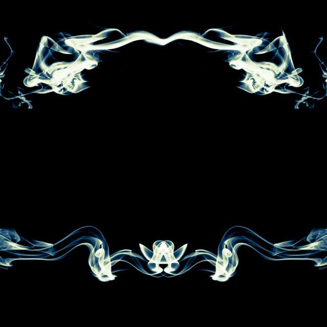 """""""Abstract smoke frame"""" stock image"""