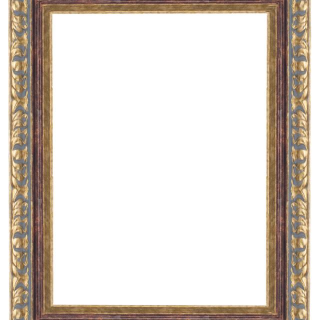 """Gold frame"" stock image"