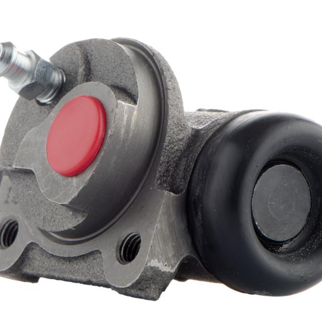 """""""Car cylinder brake drum"""" stock image"""