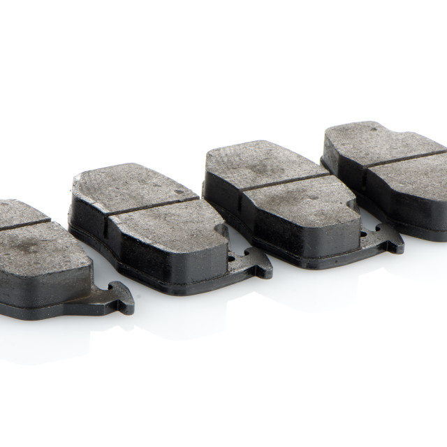 """Car brake pads"" stock image"