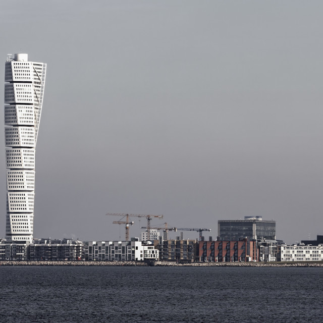 """Turning Torso"" stock image"