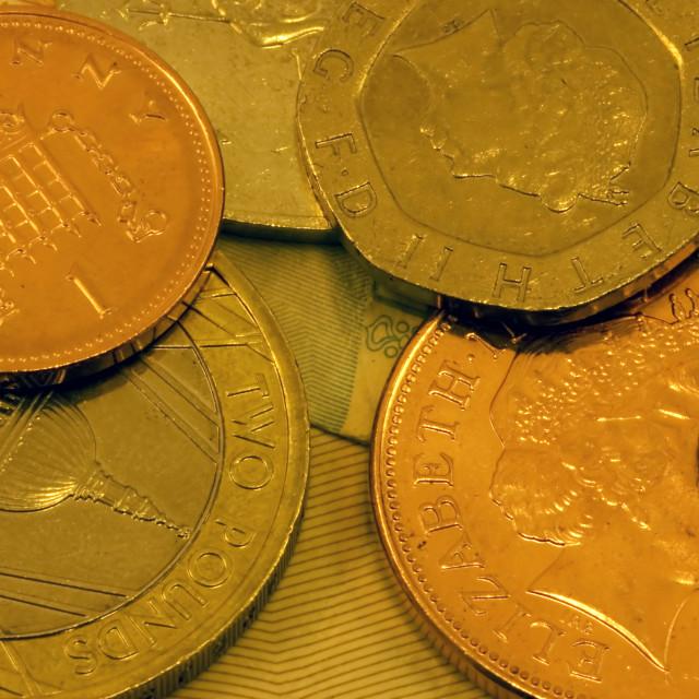"""""""UK Money"""" stock image"""