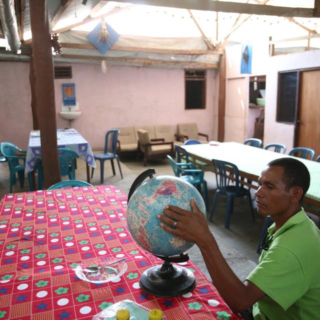 """""""ASIA EAST TIMOR TIMOR LESTE SAME GLOBE"""" stock image"""