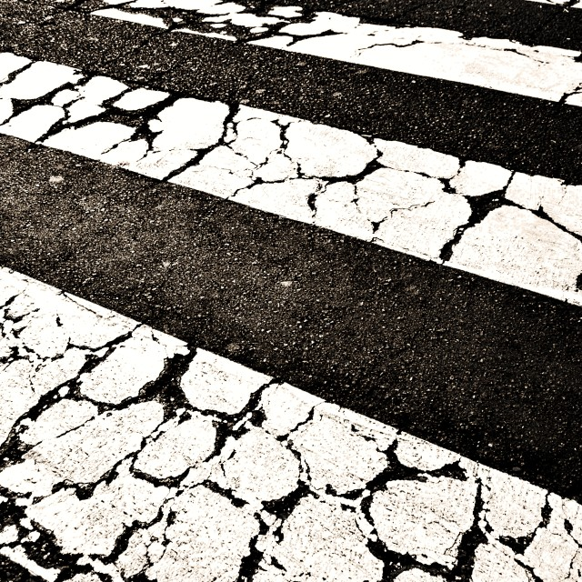 """Zebra crossing"" stock image"
