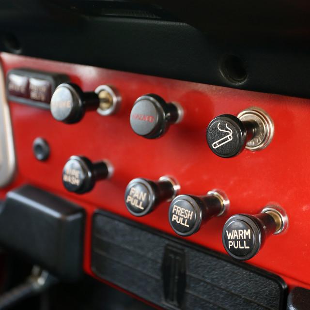 """Automotive cigarette lighter"" stock image"
