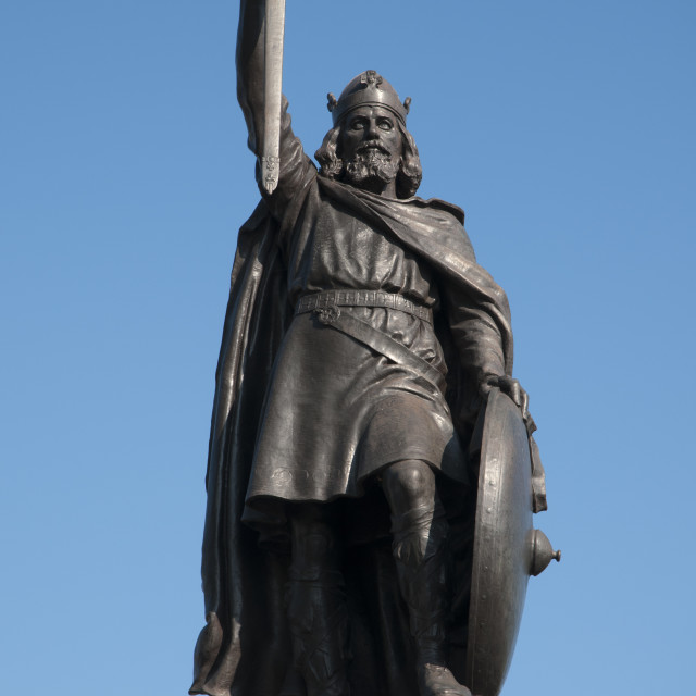 """Alfred The Great"" stock image"