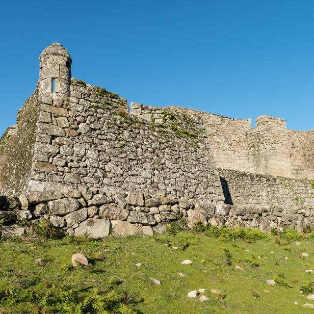 """""""Lindoso castle"""" stock image"""