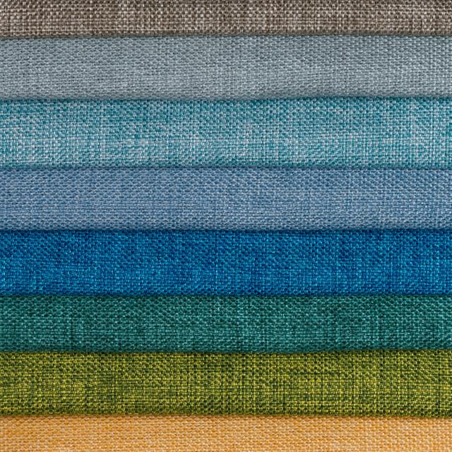 """Fabric samples"" stock image"