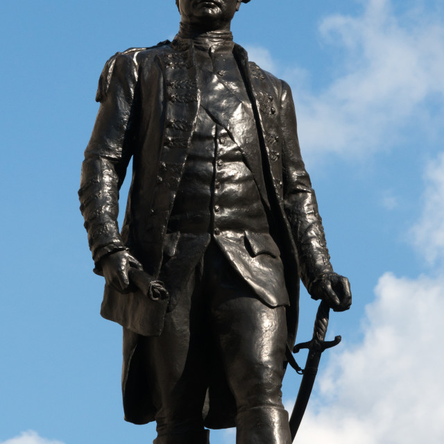 """Clive of India Statue"" stock image"