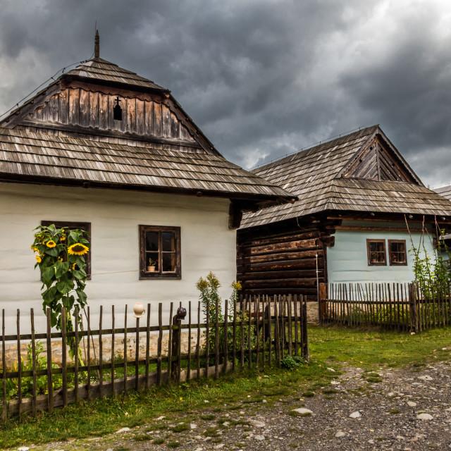 """Liptov houses"" stock image"