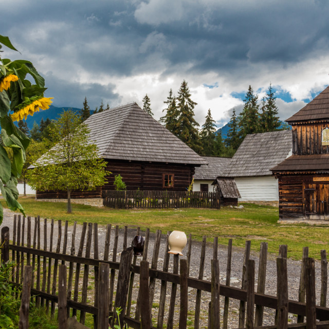 """Wooden Church Liptov"" stock image"