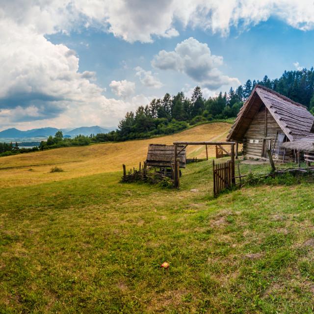"""""""Havranok panorama"""" stock image"""