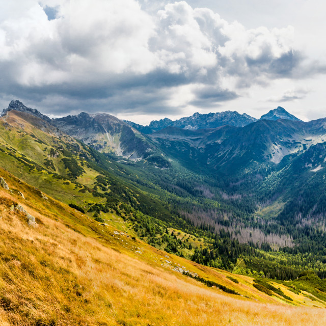 """Low Tatras hike"" stock image"
