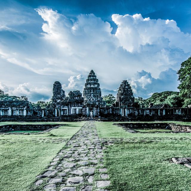 """""""Ancient temple in Thailandia"""" stock image"""