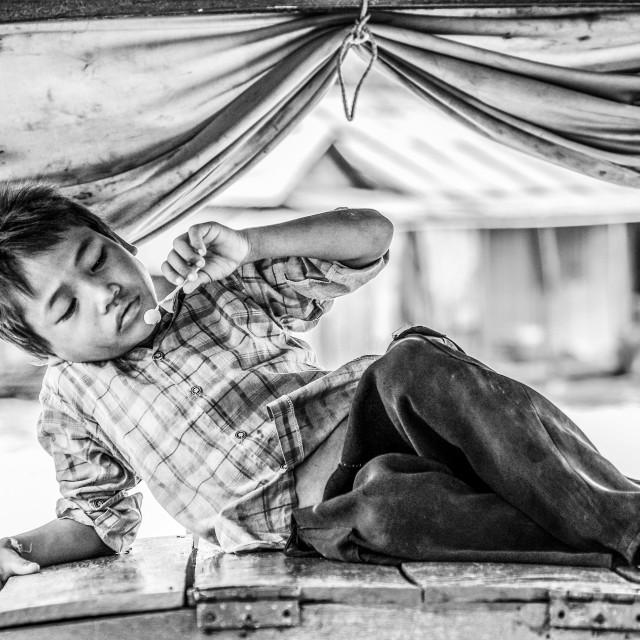 """Cambodian life"" stock image"