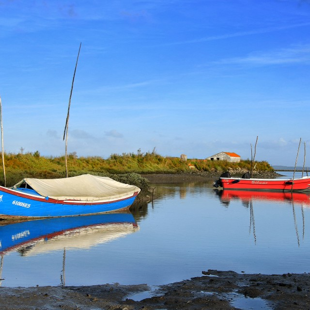 """""""Boats on Water"""" stock image"""