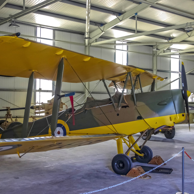 """""""de Havilland Tiger Moth"""" stock image"""