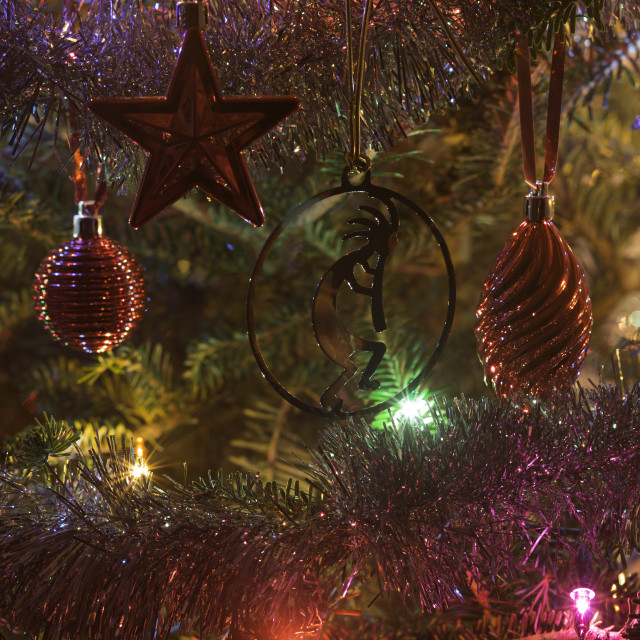 """""""Lights in the tree"""" stock image"""