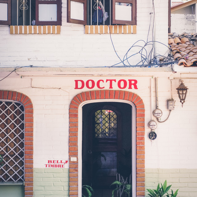 """Doctors Office in Mexico"" stock image"