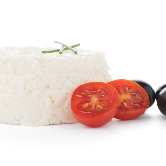 """Cottage cheese"" stock image"