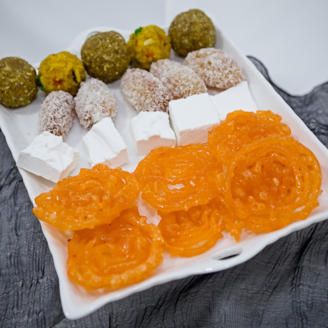 """Indian sweets"" stock image"