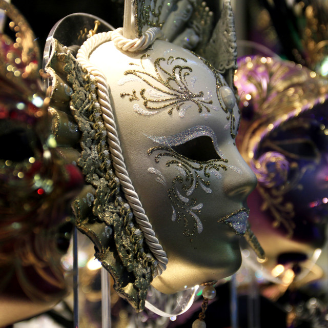 """Mask Venecia"" stock image"