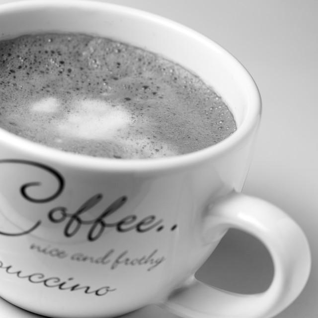"""Cappuccino"" stock image"