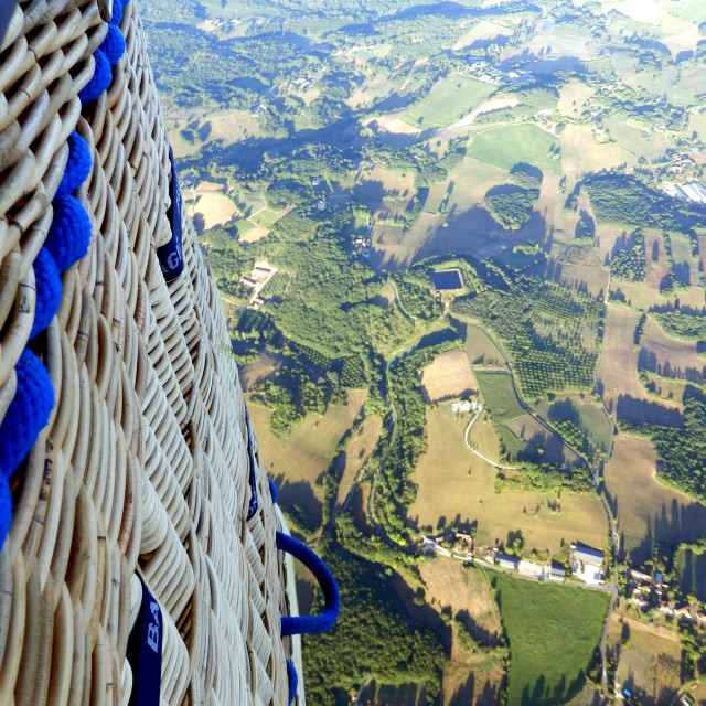 """Dordogne Landscape"" stock image"