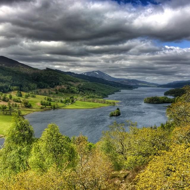 """Queens View - Scotland"" stock image"