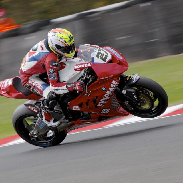 """Superbike"" stock image"