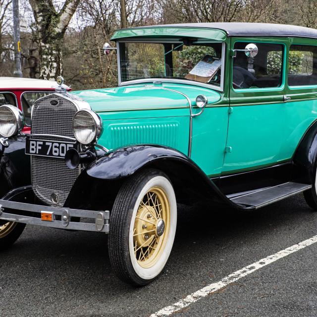 """Vintage Car"" stock image"