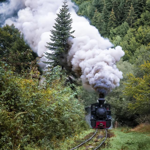 """High steam"" stock image"