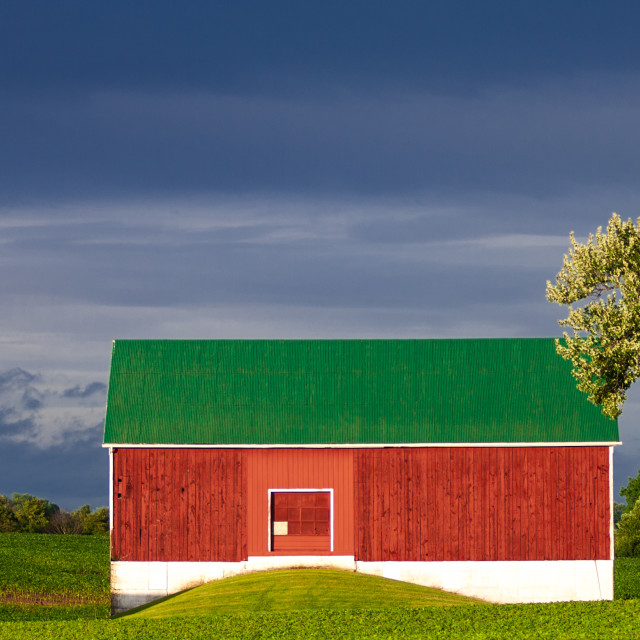 """Farm Landscape"" stock image"