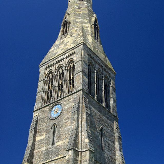 """Leicester Cathedral"" stock image"