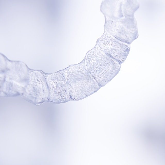 """""""Dental aligner tooth retainers invisible brace"""" stock image"""