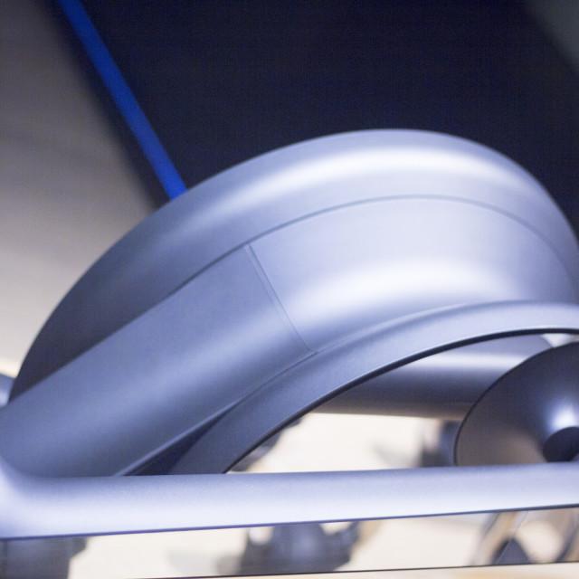 """Gym fitness equipment exercise step machine"" stock image"