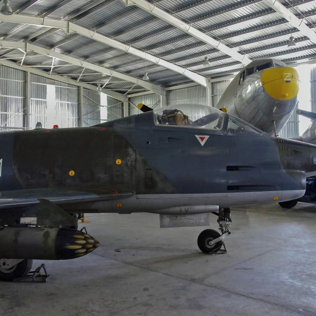 """Malta Aviation Museum"" stock image"